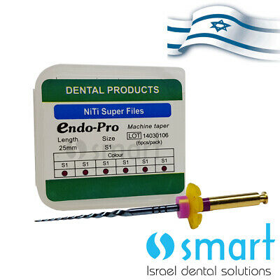 Dental NiTi rotary Endo thermal heat activation Super File ENDO PROTAPERED S1