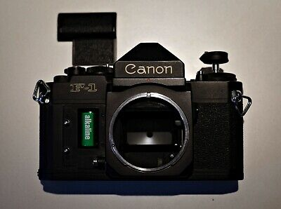 Canon F1-N 35mm Rangefinder Film Camera Package