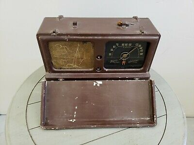 Antique Zenith Transoceanic Radio For Parts Or Restore