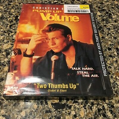 Pump Up the Volume (DVD, 1999) Snapcase New Sealed!