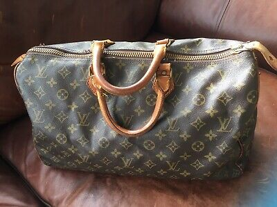 Louis Vuitton Monogram Vintage Holdall Bag