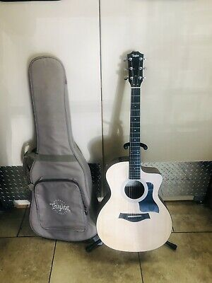 Acoustic Electric Guitars Taylor 114ce Acoustic Electric Guitar 2015 Vgc 100 Series can End Anytime Soon Guitars & Basses