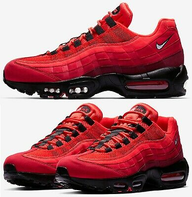 release date: dce4a ab5c0 Nike Air Max 95 OG Sneakers Men s Lifestyle Shoes Habanero Red