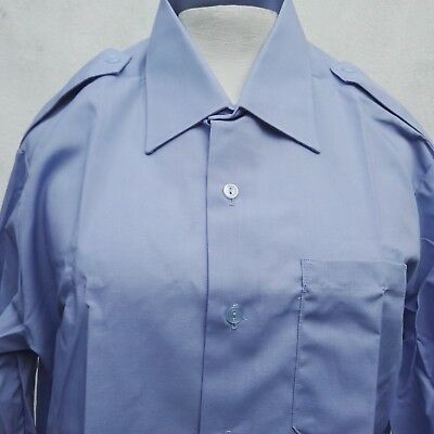 Ben Sherman Shirt Blue 80s Vintage
