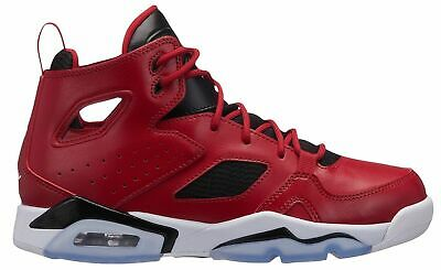 412ed0c1466808 Nike Air Jordan Flight Club  91 BG Red Blk Big Kids Basketball Shoes 555472