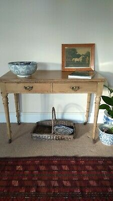 Stunning antique pine side/console/hall table