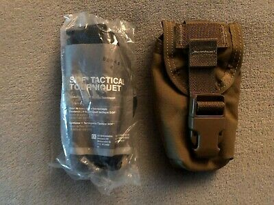 Tactical Medical Solutions SOF Tourniquet Eagle Industries Coyote Pouch NEW TCCC