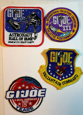 Vintage 1990s GI Joe Official Convention Patch Collection- Your Choice