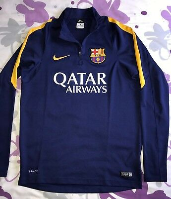 M Sweatshirt Fc Barcelona Half Zip Training Coach Fcb Fcbarcelona Technical  Team 9838763255b