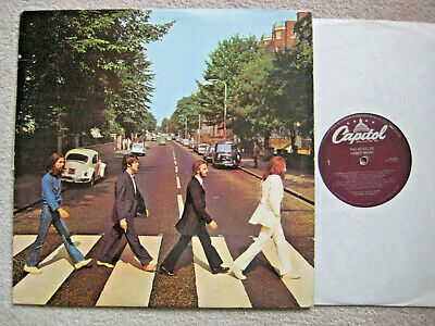 Lp Record: The Beatles: Abbey Road (Vg+)
