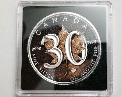 2018 Canada 30th Anniversary 1oz Silver Maple Leaf Only One on Ebay Special