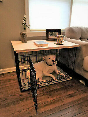 Dog Cage Crate Topper Coffee Table End Table Large
