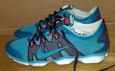NIKE ZOOM FIT Agility Running Training White Green Volt Women's US ...