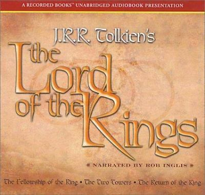 LORD OF THE RINGS Audiobook Collection read by Read by ROB INGLIS + BONUS