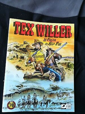 Tex Willer 2 La Banda Di Red Bill .sergio Bonelli Editore