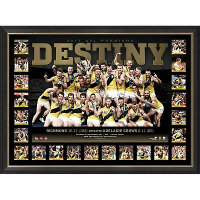 Richmond 2017 Afl Premiership Framed Destiny Print Cotchin Martin Riewoldt