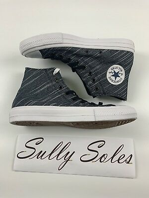 07bcd8e01c20 Converse CTAS II Women s Fashion Sneakers Thunder Wht Size 7.5 M Limited  Grey