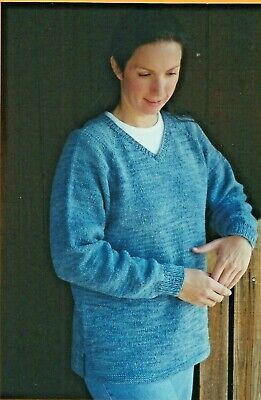 7610003013e06 KNITTING PURE   Simple Knitting Pattern 9726 Neckdown Pullover Tunic ...