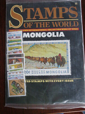 Stamps of the World Mongolia    including the issue No 11