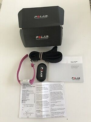 Polar FT4 Watch and  Heart Rate Monitor - Purple/Pink in box.