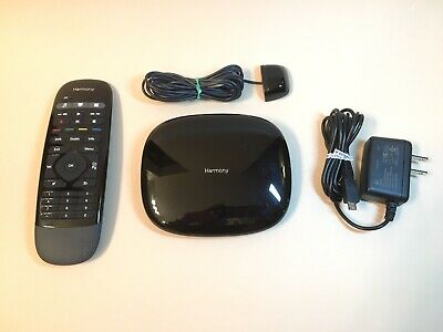 Logitech Harmony Smart Control Hub and Remote Control w/ Original Packaging