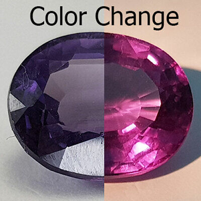 9.03 Cts Magnificent Crystal Clear Color Change Natural Alexandrite
