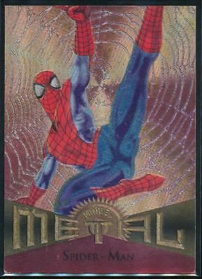 1995 Marvel Metal Trading Card #78 Spider-Man