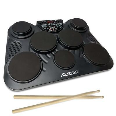 Alesis Compactkit 7 | Ultra-Portable 7-Pad Electronic Table-Top Drum Kit With