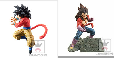 Banpresto Dragonball Z Dokkan Battle 4th Anniversary Super Saiyan 4 Goku Vegeta