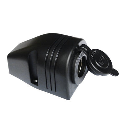 12V Motorcycle Car Cigarette Lighter Power Socket Power Outlet Waterproof AZ