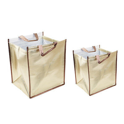 Outdoor Picnic Waterproof Aluminum Foil Insulated Cooler Thermal Lunch Bag LI