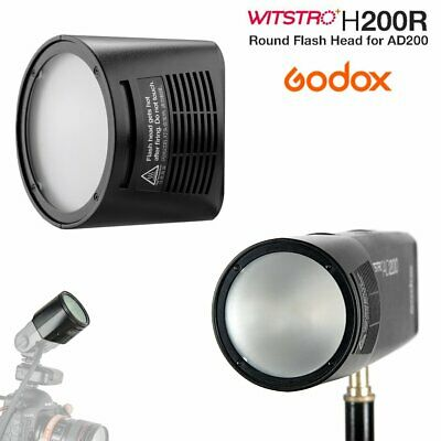 Godox H200R Ring Round Flash Head Separation Extension Head For AD200 Flash