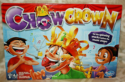 Hasbro Chow Crown Game Electronic Spinning Crown Snacks Food Kids Family Party