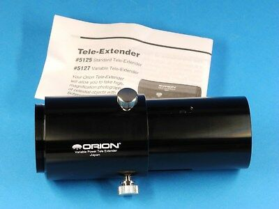 ORION Variable Power Tele Extender #5127, like new in box, Made in Japan
