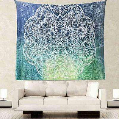 Bohemian Style Indian Tapestry Wall Hanging Mandala Twin Hippie Bedspread Decor