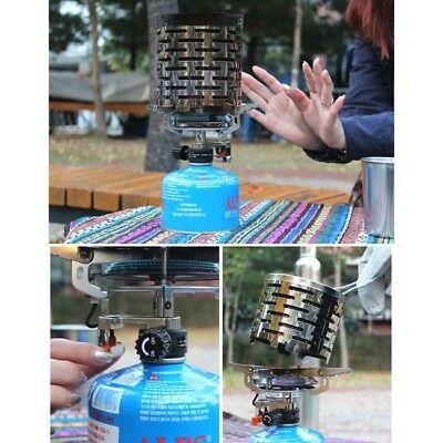 Mini Outdoor Portable Space Heater Gas Heating Stove Camping Fishing Tent Warmer