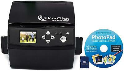 ClearClick 20 MP QuickConvert Photo, Slide, and 35mm Negatives to Digital Conver