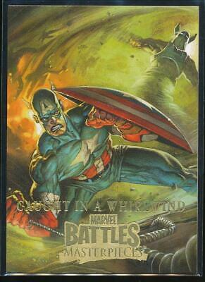 2008 Marvel Masterpieces 3 Trading Card #50 Caught in a Whirlwind