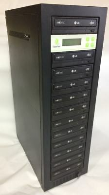 DVD Duplicator with 12 bays and a 1TB Hard Disk inside