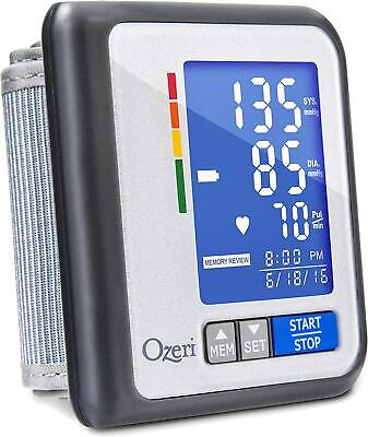 Ozeri CardioTech Travel Series BP6T Rechargeable Blood Pressure Monitor with Hyp