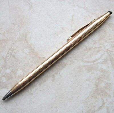 "CROSS Kugelschreiber 1/20 14 KT Goldfilled Gravur ""Father Mike Norton"" Ballpen"