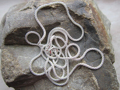 925 Real Silver *** Necklace Snake Chain 1,3 MM//36-38-40-42-45-50-55-70 cm