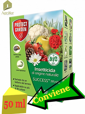 Insetticida Biologico Success Bayer 50 Ml Orto, Frutta, Dorifora, Lepidotteri