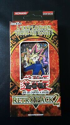 Edition Spéciale De Boosters Retro Pack 2 Yu-Gi-Oh! Fr Neuf Introuvable