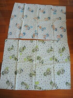 x2 Raggedy Ann and Andy Pillow cases Vintage