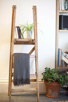 Antique - Large FRENCH wooden orchard ladder for rustic-vintage style