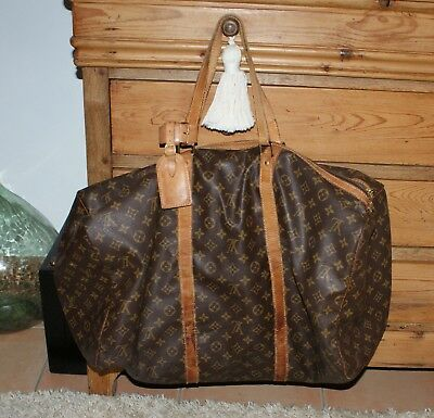 "Grand Sac De Voyage Louis Vuitton ""sac Souple 55"""