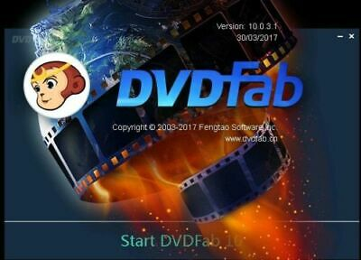 DVDFab All-In-One FULL WIN X86/X64, instant WORLD delivery, READ DESCRIPTION