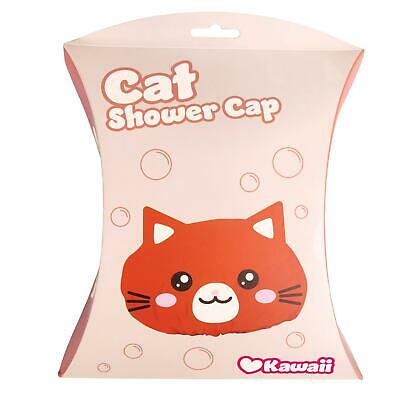 Kawaii Cat Novelty Shower Cap