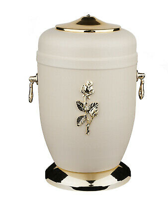 Adult Cremation Urn for Ashes Unique Memorial Funeral urn for Human Ashes (Rose)